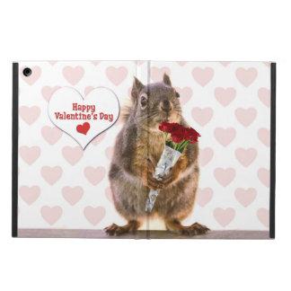 Squirrel Valentine iPad Air Cover