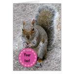 Squirrel Valentine's Card