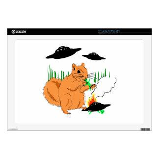 """Squirrel vs. Aliens Skin For 17"""" Laptop"""
