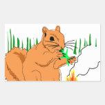Squirrel vs. Aliens Sticker