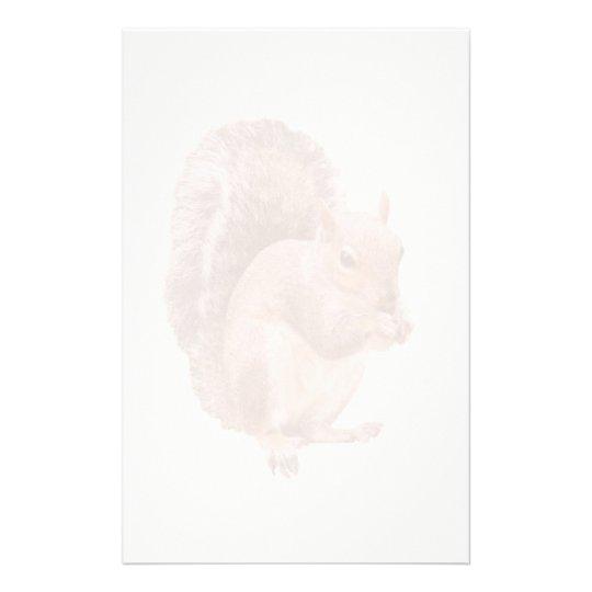 squirrel watermark stationery