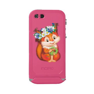 Squirrel Waterproof Case For iPhone SE/5/5s