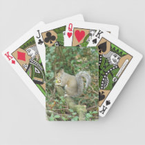 Squirrel with Acorn Playing Cards