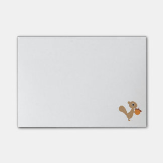 Squirrel with Acorn Post-it Notes