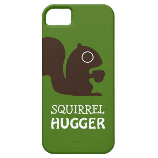 Squirrel with Custom Text iPhone SE/5/5s Case