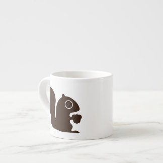 Squirrel with Customizable Text Espresso Cup