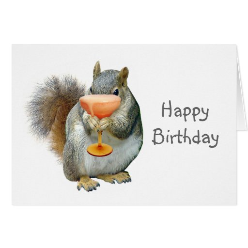 squirrel_with_drink_birthday_card-rd8575