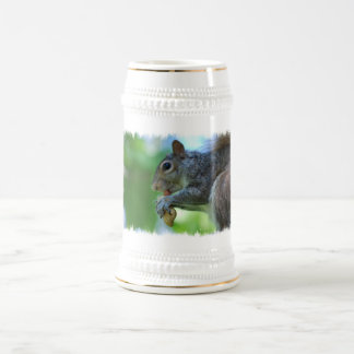 Squirrel with Nut Beer Stein Coffee Mug