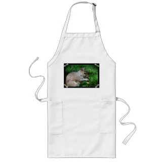 Squirrel with Nut Long Apron