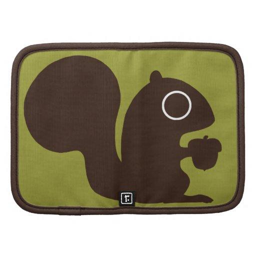 Squirrel with Nut Organizer