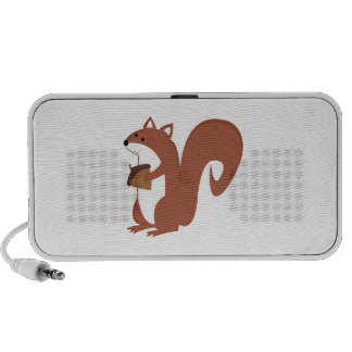 Squirrel With Nut iPhone Speakers