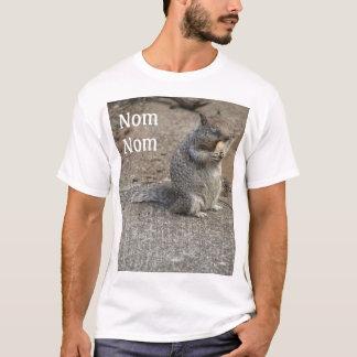 Squirrel with Peanut Nom Nom T-Shirt