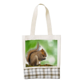 Squirrel Zazzle HEART Tote Bag