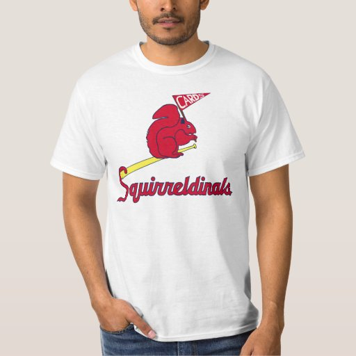 Squirreldinals saint louis rally squirrel t shirt zazzle for St louis t shirt printing