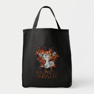 Squirrelly Wrath Tote Bag