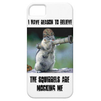 Squirrels are mocking me iPhone SE/5/5s case