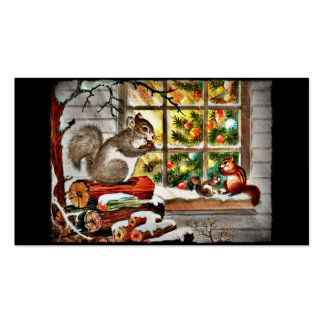 Squirrels at the Window Business Cards