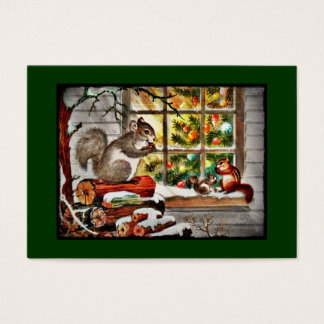 Squirrels at the Window Business Card
