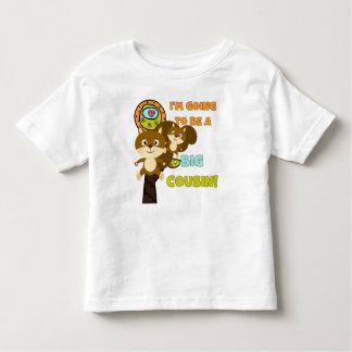 Squirrels Future Big Cousin Toddler T-shirt