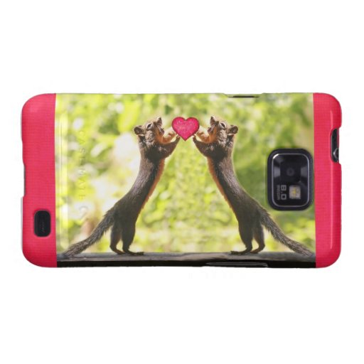 Squirrels in Love Galaxy S2 Cases