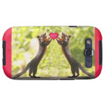 Squirrels in Love Galaxy S3 Cover