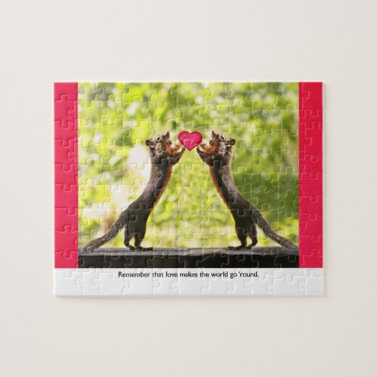Squirrels in Love Jigsaw Puzzle