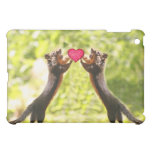 Squirrels in Love Photo iPad Mini Case