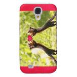 Squirrels in Love Photo Samsung Galaxy S4 Cases