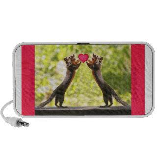 Squirrels in Love PC Speakers