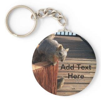 Squirrels Keychain