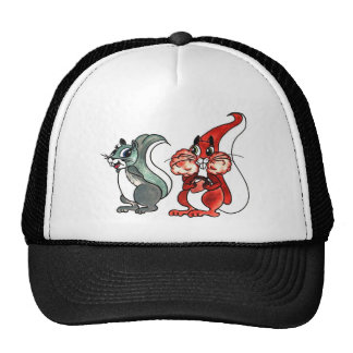 Squirrels Love at first sight Trucker Hat
