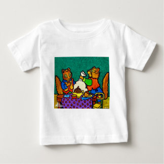 Squirrels  lunch by Piliero Baby T-Shirt