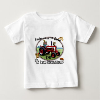 Squirrels on the Farm Baby T-Shirt