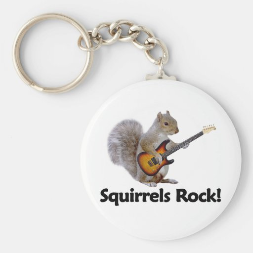 Squirrels Rock! Key Chains