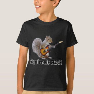 Squirrels Rock! T-Shirt