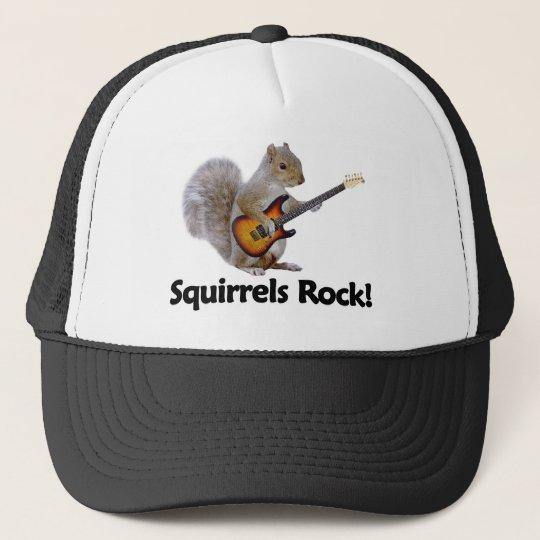 Squirrels Rock! Trucker Hat