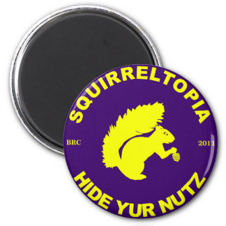 Squirreltopia-icono Imán Redondo 5 Cm