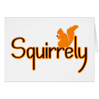 Squirrely Card