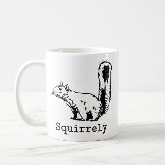 Squirrely Coffee Mug