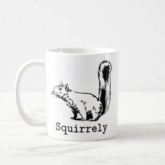 Squirrely Coffee Mugs