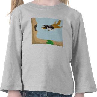 Squirrely el piloto camisetas