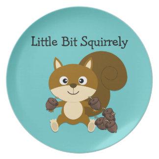 Squirrely Plato De Comida