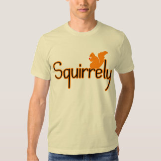 Squirrely Playera