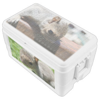 Squirrely Squirrel 48 Quart Ice Chest