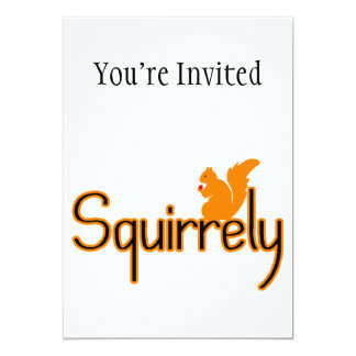 Squirrely Squirrel Card