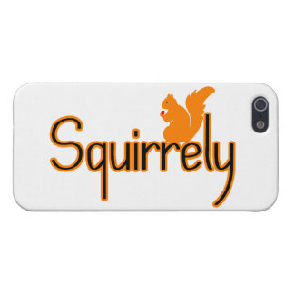 Squirrely Squirrel Case For iPhone SE/5/5s