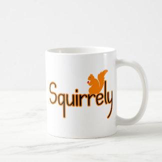 Squirrely Squirrel Coffee Mug