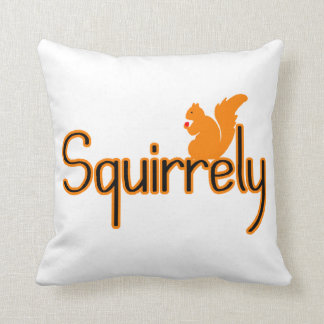 Squirrely Squirrel Pillow