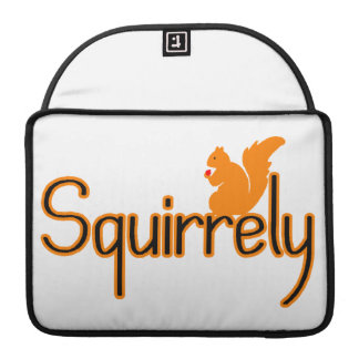 Squirrely Squirrel Sleeves For MacBook Pro
