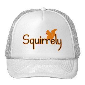 Squirrely Squirrel Trucker Hat